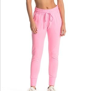 Free People Movement Sunny Pink Jogger Sweat Pants